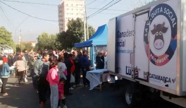"""""""La Vaquita Social"""" hoy en las plazas Villas Cubas y Virgen del Valle"""