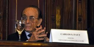Quien sera el reemplazo de Carlos Fayt en la Corte Suprema?