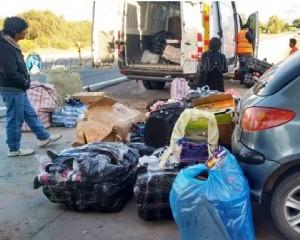 Secuestran mercadería en el puesto caminero El Portezuelo