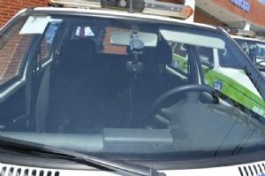 Móviles de la Guardia Urbana con cámaras de seguridad