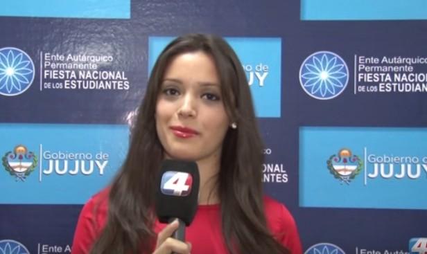 La Reina de los Estudiantes de Catamarca, en la previa de la elección nacional