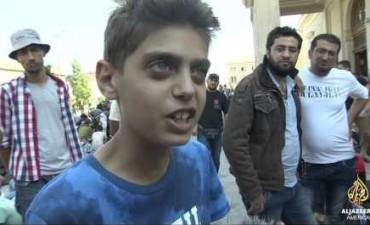 El desesperado pedido de un nene sirio: