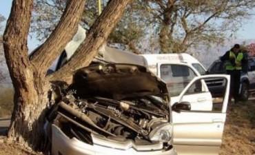 Adolescente grave tras un choque en Valle Viejo