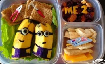 Este papá hace los almuerzos más divertidos y originales