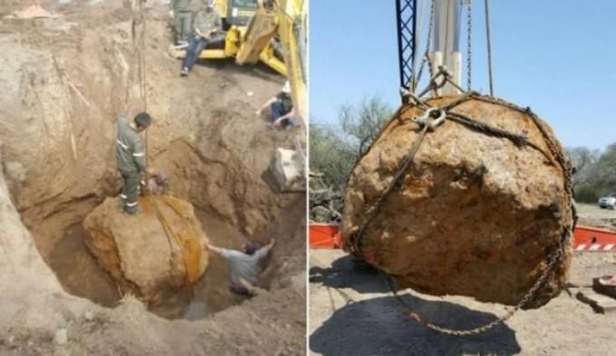 Hallaron un meteorito de más de 30 toneladas, el segundo más grande del mundo
