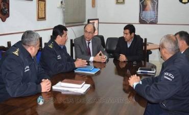 Importante reunión en la Jefatura General de Policía