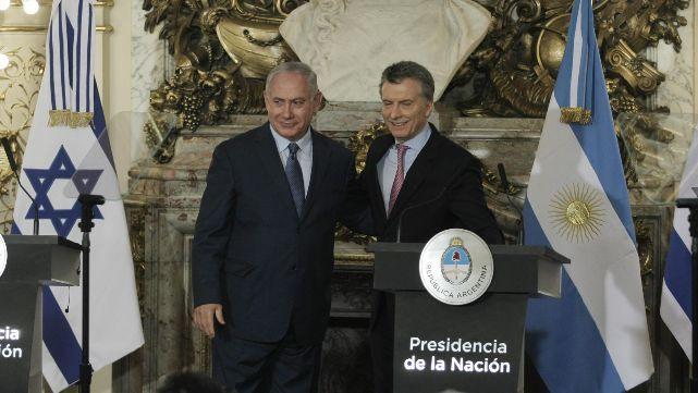 Macriy Netanyahuratificaron lucha conjunta contra el terrorismo