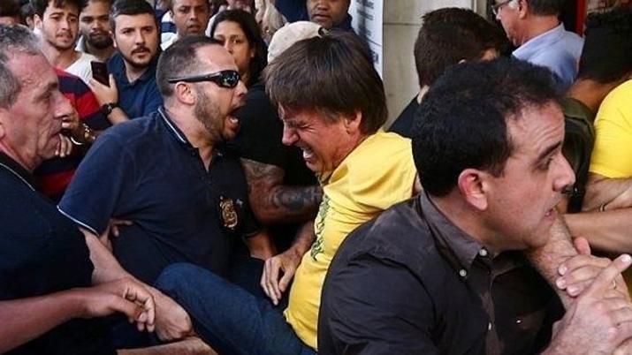 Apuñalaron al candidato a presidente de Brasil de la ultraderecha