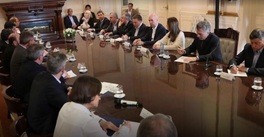 Cinco gobernadores pegaron el faltazo a la reunión con Macri por el Presupuesto