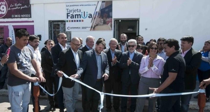 Corpacci inauguró obras en el departamento La Paz