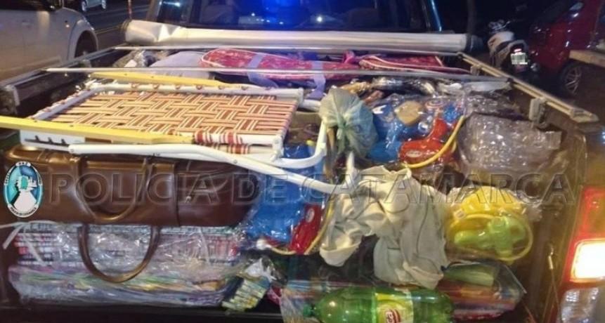 Secuestraron mercadería ilegal por 70 mil pesos