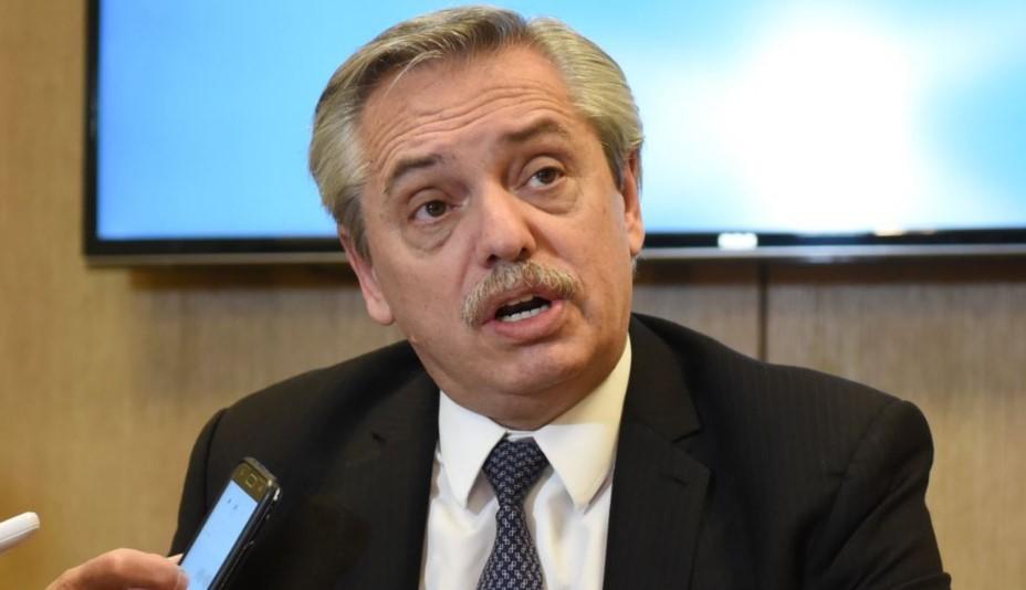 Un medio  nacional afirmó que Alberto Fernández mantuvo una  FALSA  AGENDA  en España