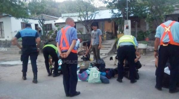 Secuestran droga y resguardan a adolescentes en un puesto caminero