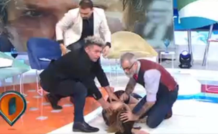 La cantante Daniela sufrió un accidente isquémico transitorio en Intrusos