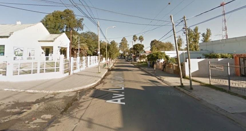 Motociclista lesionado tras ser chocado por un auto conducido por un adolescente de 15 años