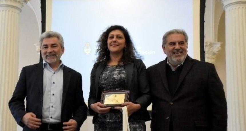Docente del interior, reconocida con el premio Maestro Ilustre 2019