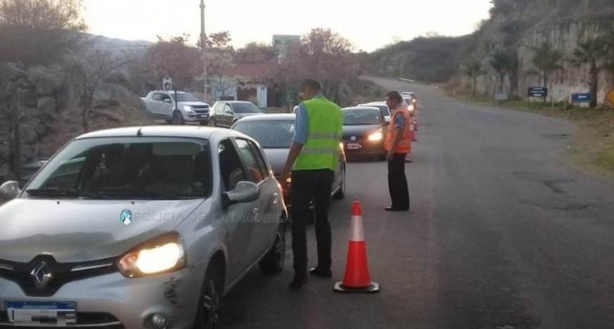 Se intensifican los controles vehiculares en todo el Valle Central por el Día del Estudiante