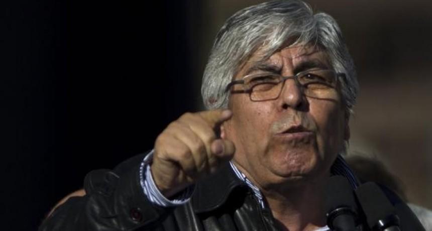 Hugo Moyano: En octubre, a Macri hay que echarlo a la mierda