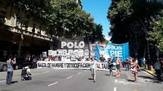 El Sindicalismo Combativo y Frente Piquetero vuelven a marchar a Plaza de Mayo