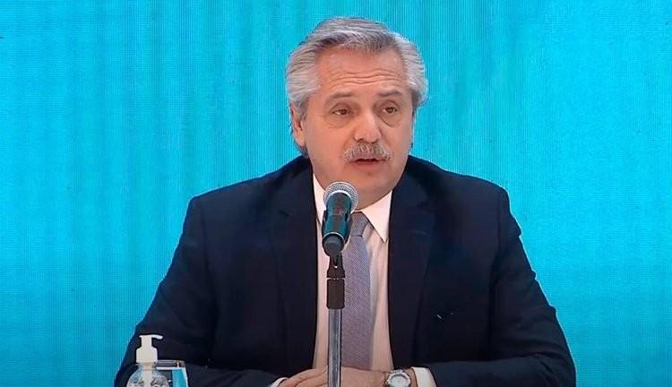 "Alberto Fernández: ""Me llamó la mamá de Facundo Astudillo Castro"""