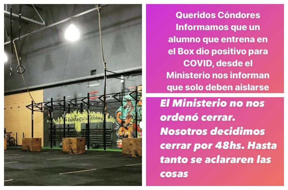 Cerraron un gimnasio en Capital por un caso positivo en coronavirus