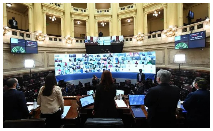 El Senado convalidó el DNU que declara servicio público esencial a las telecomunicaciones