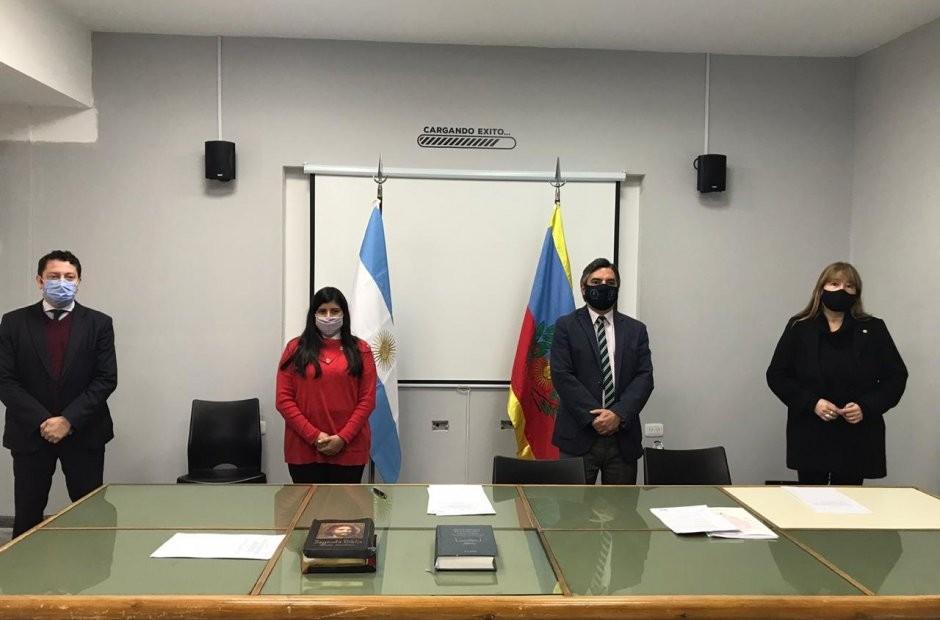 La Comisión Evaluadora eligió autoridades