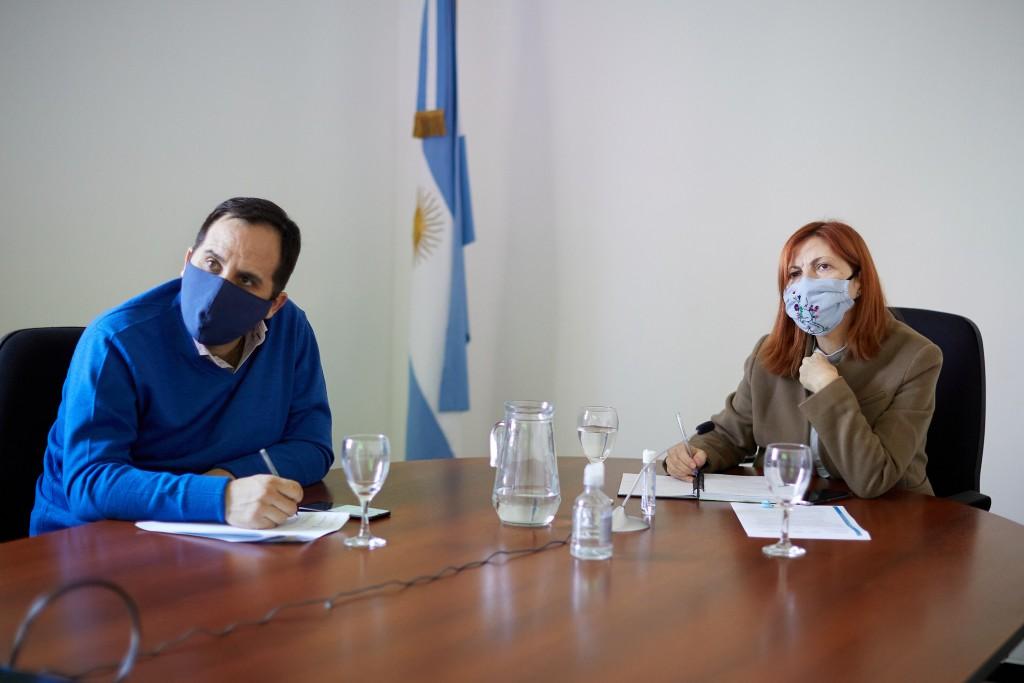 El Ministerio del Interior avanzó con La Rioja en proyectos para el desarrollo productivo