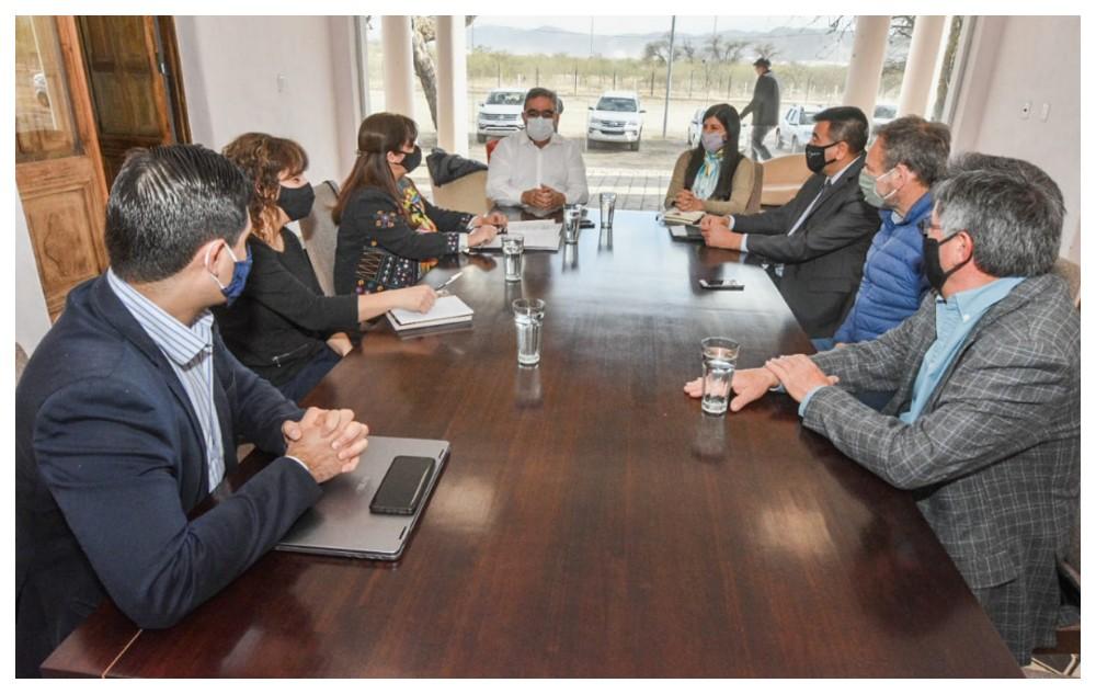 Jalil con su equipo de gobierno, comienza a definir el Presupuesto 2021