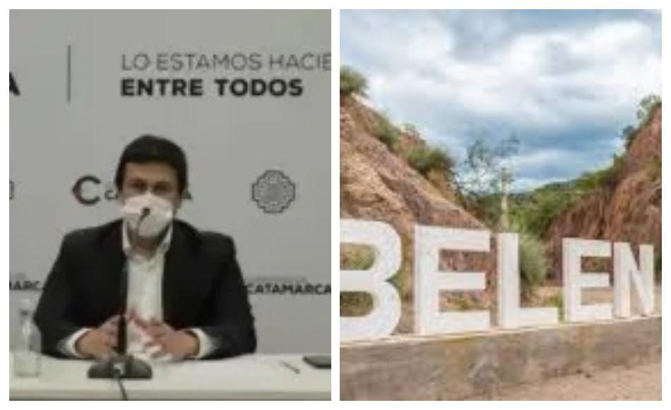 Aguirre:  No hay transmisión comunitaria en Belén