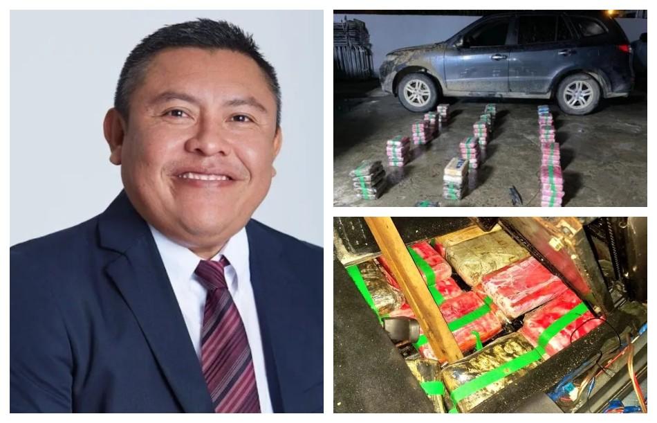 Detuvieron a un gobernador con 79 kilos de cocaína en su auto
