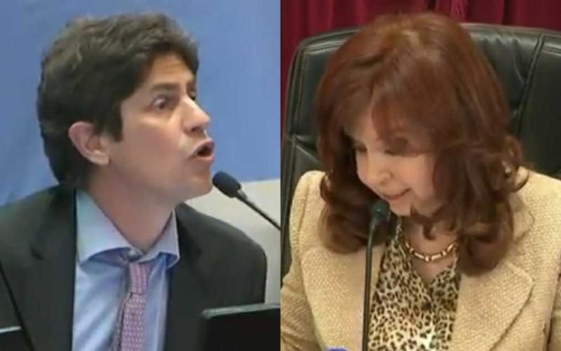 """""""Cuéntenme qué quieren hacer"""": el cruce entre Cristina Kirchner y Martín Lousteau"""