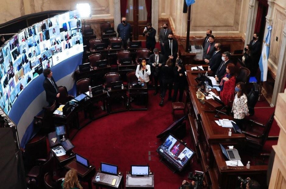 La oposición se fue del Senado para no convalidar la remoción de jueces que busca el oficialismo