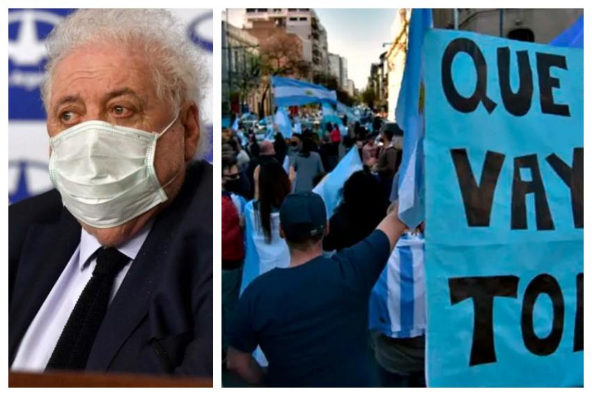 Ginés González García: Entiendo el malestar con la economía, con el Gobierno no se entiende es el comportamiento antisocial