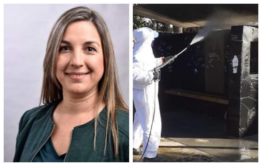 DENUNCIA DE ATE CONTRA ZENTENO: Los desinfectan en manada, como hacían con los judíos antes de llevarlos a la cámara de gas