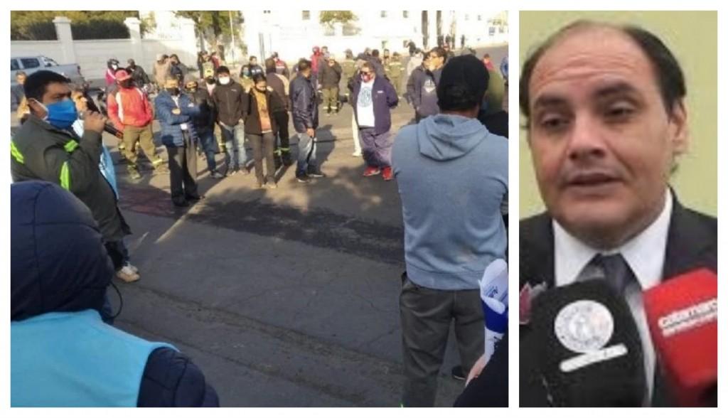 Gustavo Saadi sobre los cesanteados: Se va a revisar caso por caso y se reincorporaran aquellos que no participaron de los hechos de violencia