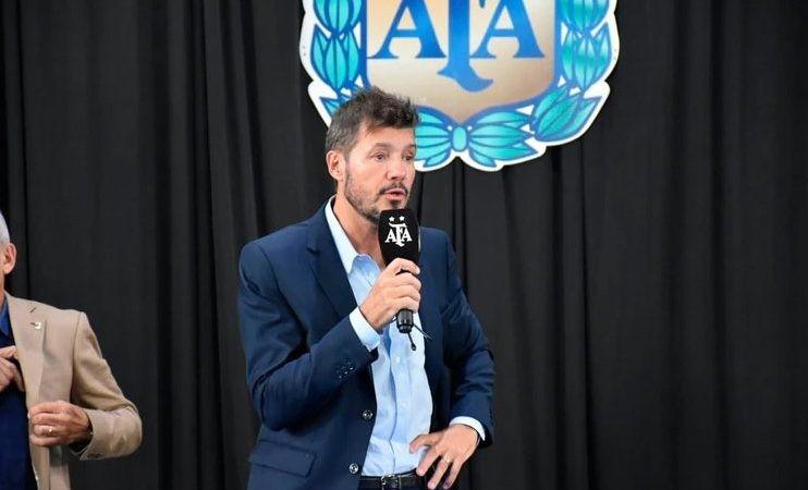 Tinelli le puso fecha a la vuelta del fútbol argentino