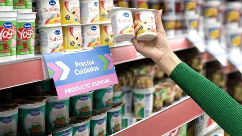 Productos de Precios Cuidados tendran un suba del 4% en alimentos
