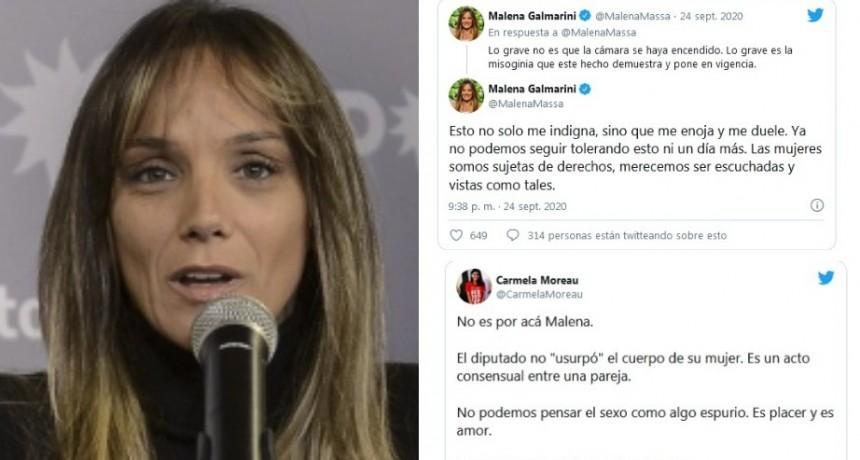 """""""Mezclaste todo"""": burlas contra Malena Galmarini por sus tuits """"feministas"""" sobre el """"pornodiputado"""""""