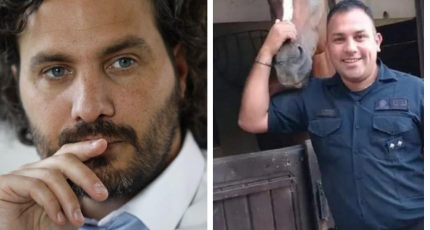 """Santiago Cafiero tras el asesinato al policía: """"No está en estudio el tema de las Taser, seguimos con nuestra línea"""""""