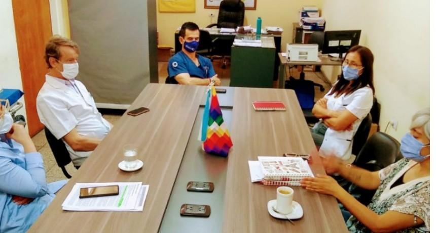 Reunión con laboratorios del sector privado