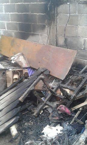 Incendio de magnitud en una vivienda,ocasiono importantes daños