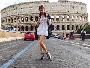 Vicky Xipolitakis sorprendió otra vez con una nueva