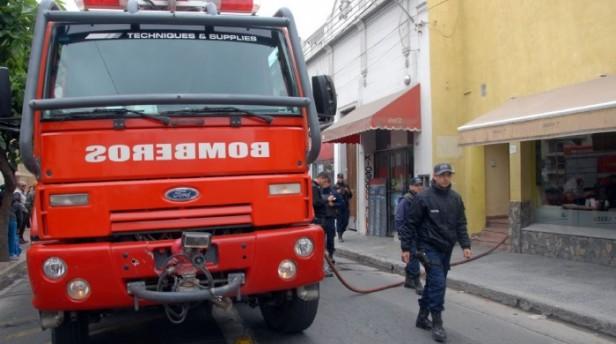 Se Incendio una vivienda en el micro centro