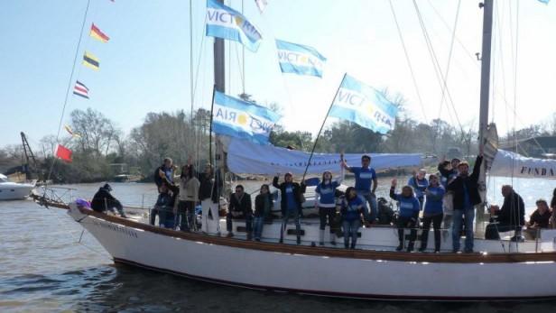 El velero de La Cámpora apareció en las Islas Malvinas