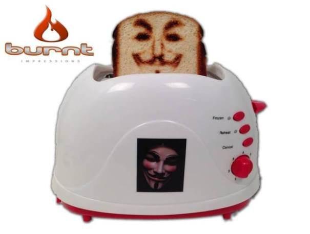 Llego la selfie tostadora, podrás poner tu propia imagen en una tostada