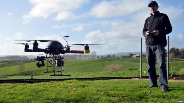 EE.UU. regulará vuelo de drones comerciales