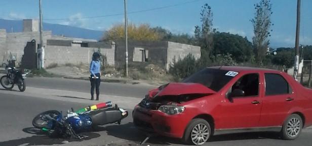 Grave accidente en Av terebintos al 1500