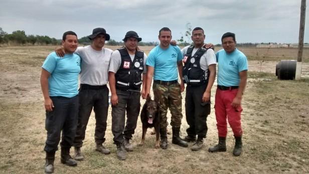 El GER se capacitó en Salta para adiestrar a perros en rescate