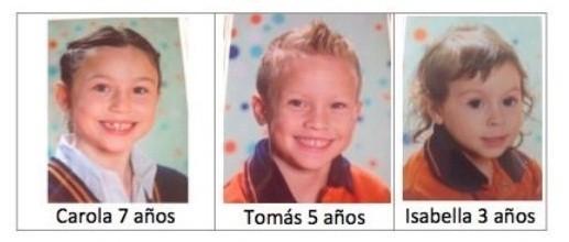 Se buscan tres chicos secuestrados por su padre